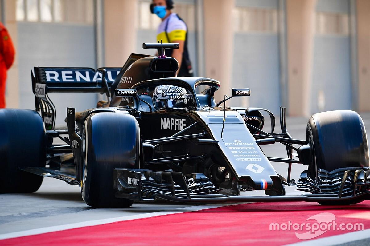 Renault zet Alonso en Zhou in tijdens test in Abu Dhabi