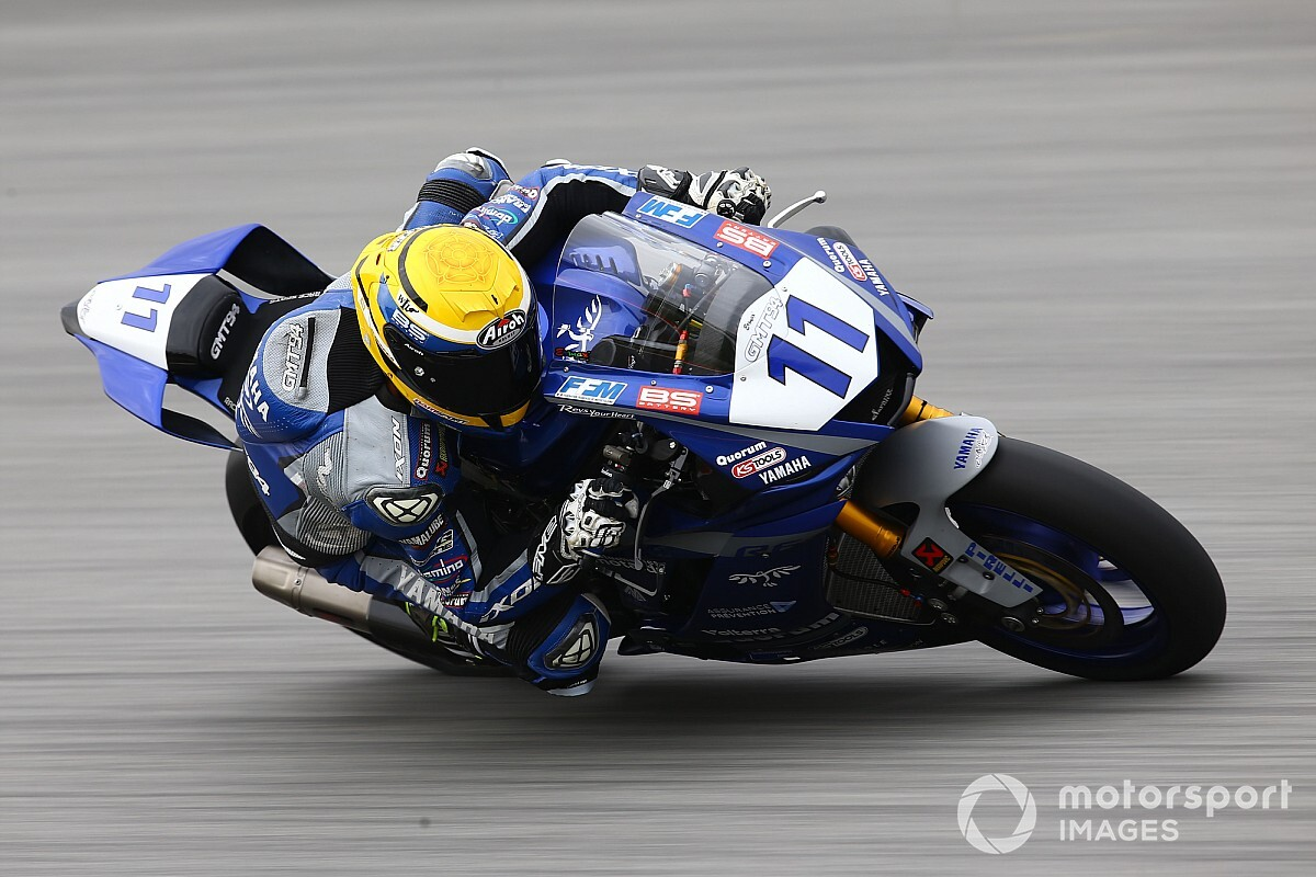 Supersport, Magny-Cours: Smith comanda le libere