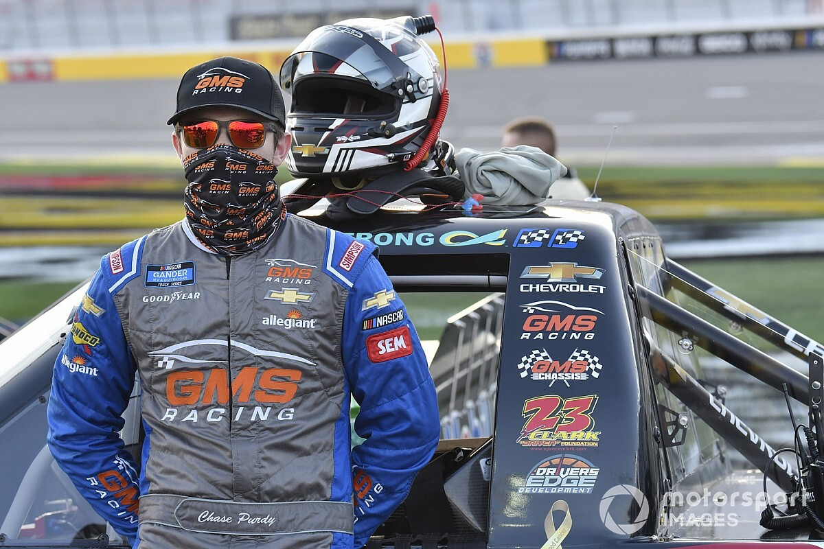 Chase Purdy joins GMS Racing for 2021 Truck schedule
