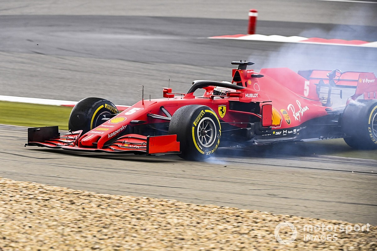 "Vettel: ""Il testacoda? Forse ho rischiato troppo"""