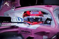 Perez a 4. helye után: Örülök, hogy a Renault-k előtt vagyunk!