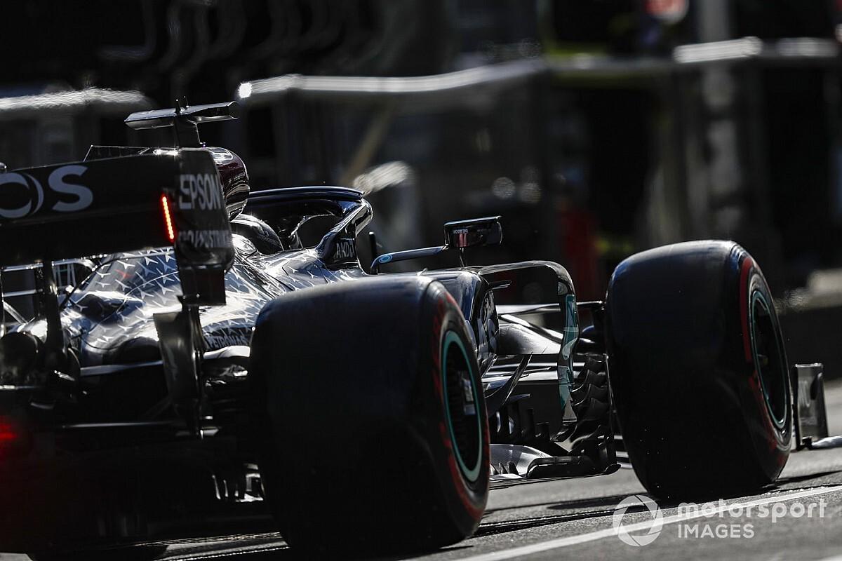 """سائقو الفورمولا واحد يتوجهون نحو """"المجهول"""" مع الإطارات في سباق نوربورغرينغ"""