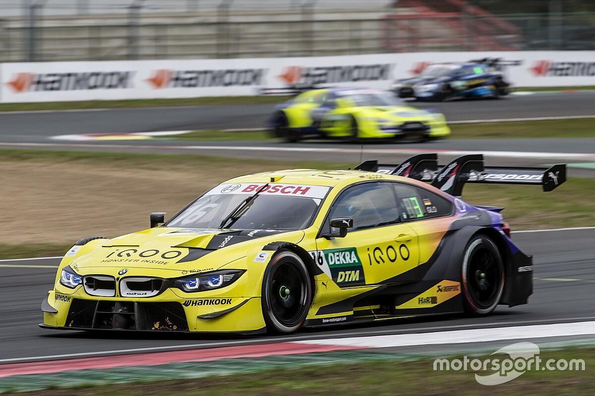 DTM: prima fila BMW a Zolder con Glock in Pole per Gara 2