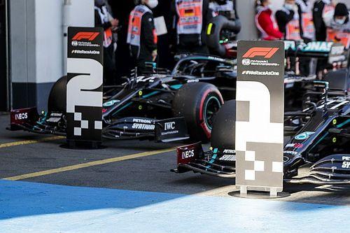 Положение в общем зачете Формулы 1 после Гран При Айфеля