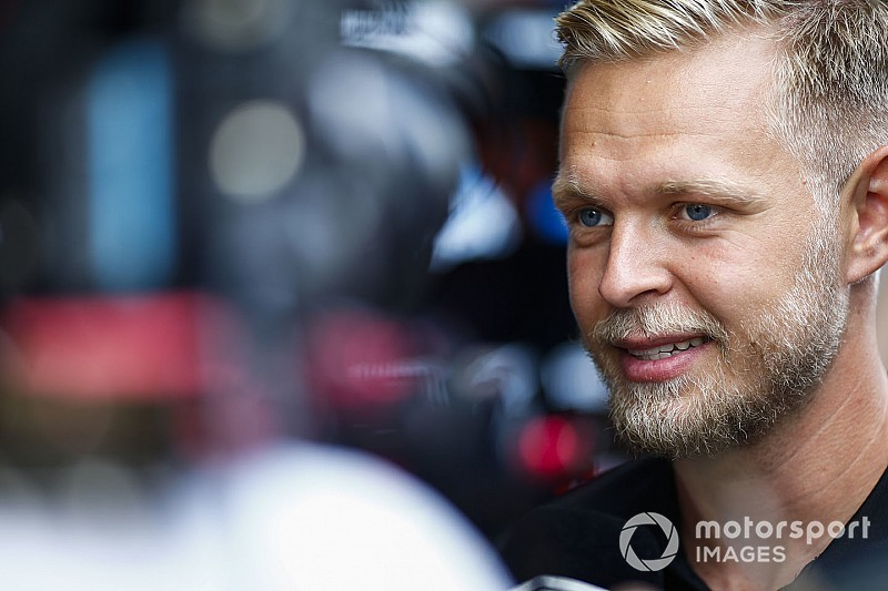 """Hülkenberg over Magnussen als mogelijke teammaat: """"Toffe kerel!"""""""
