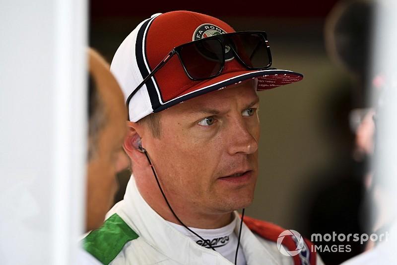 Räikkönen pénalisé sur la grille de départ
