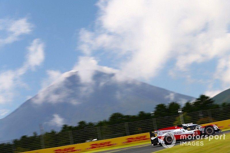 El Toyota #8 lidera y el de López es quinto en Fuji