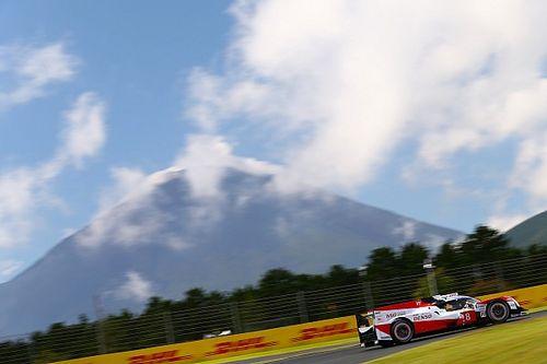 Fuji, Libere 1: Toyota al comando con in scia la Rebellion