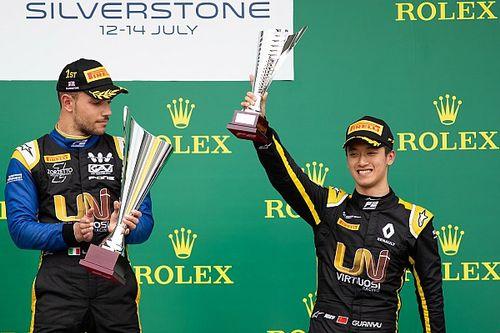 周冠宇:下半赛季希望尽快实现F2首胜