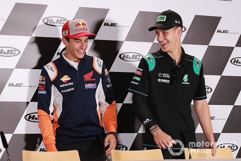 "Márquez: ""Quartararo marca el potencial real de la Yamaha"""