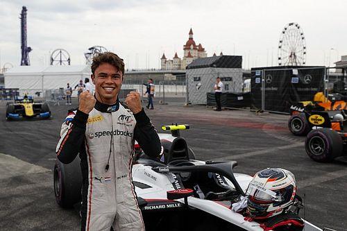 Victoria y título de la F2 2019 para De Vries en Sochi