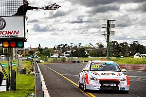 Sandown TCR: Brown survives early spin to win title