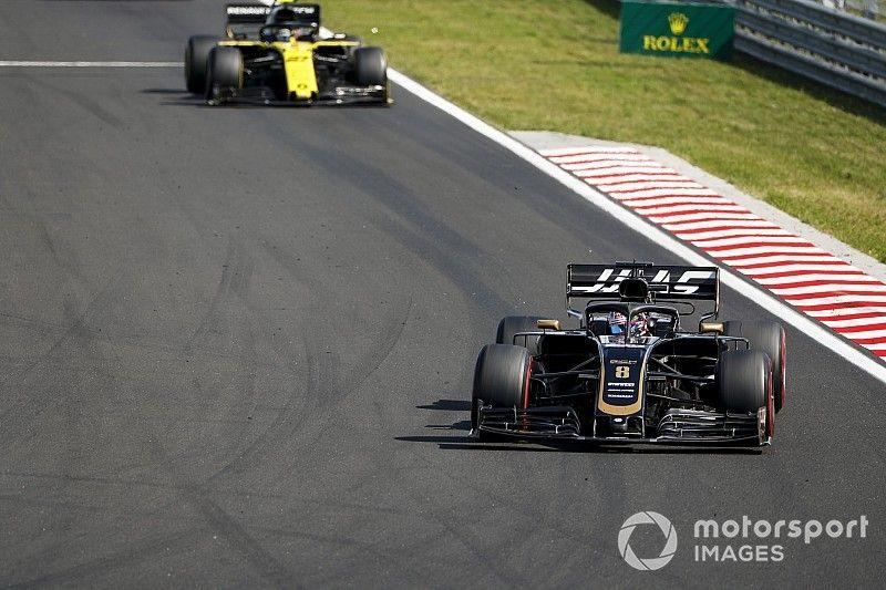 Haas, decisión inminente entre Grosjean y Hulkenberg