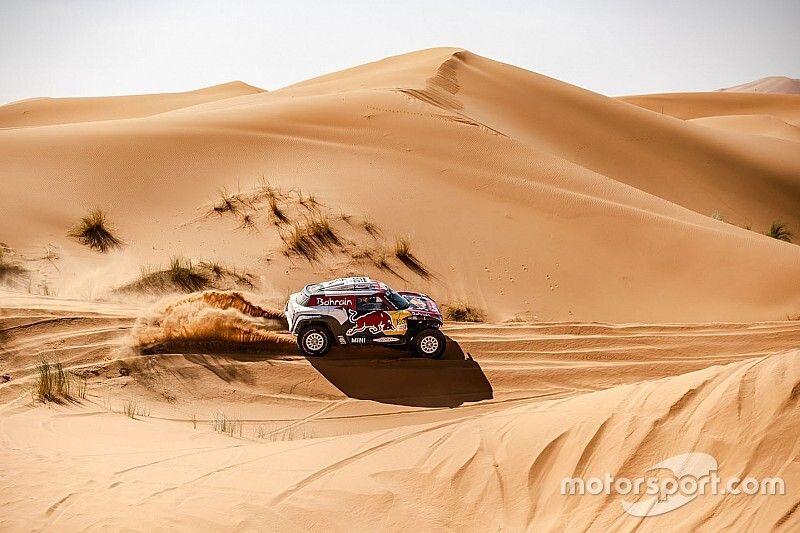Sainz y Cruz se lucen en la tercera etapa del Rally de Marruecos