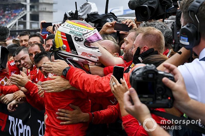 Binotto asegura que se recupera la confianza en Ferrari