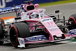 La Racing Point non corre rischi, power unit vecchia per Pérez