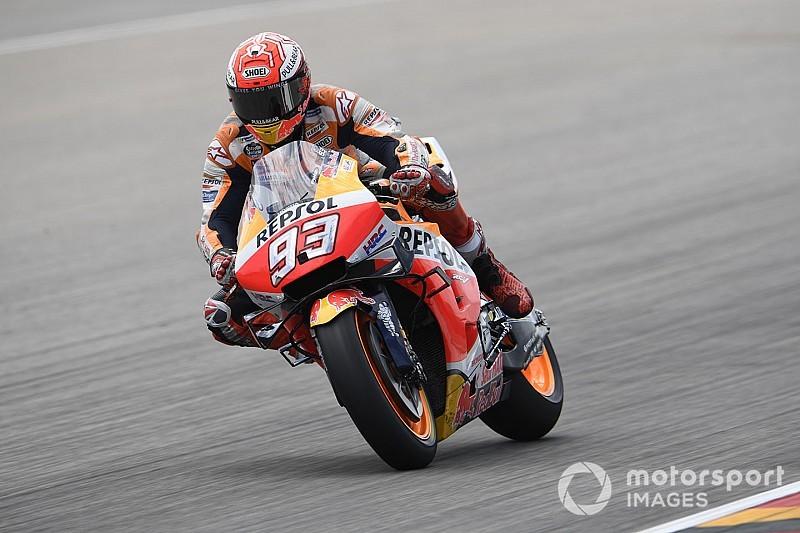 Marquez bereid zegereeks op te geven voor controle in titelstrijd