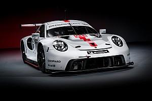 Photos - Porsche a présenté sa nouvelle 911 RSR pour le WEC