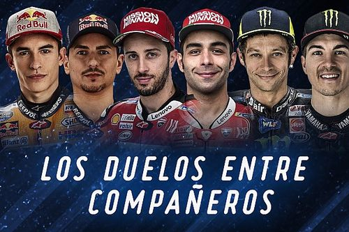 Los duelos entre compañeros de MotoGP en 2019