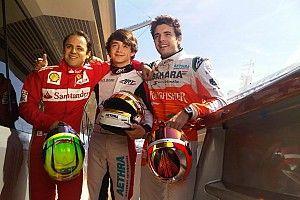 """F1: Massa diz que Leclerc """"é bonzinho, mas não tem nada de bobo"""""""