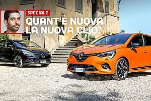 """Renault Clio, la prova del nuovo modello """"contro"""" il vecchio"""