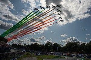 A monzai F1-es rajt előtt: a lenyűgöző vadászgépek (videó)