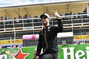 Ricciardo: PIZZA! PIZZA! PIZZA!