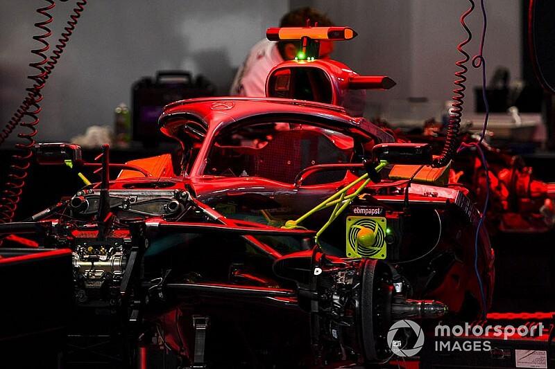 Гран При Японии: шпионские фото технических новинок