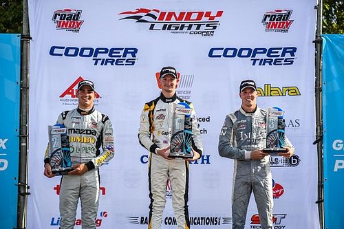 Portland Road To Indy: VeeKay, Sowery win Indy Lights races