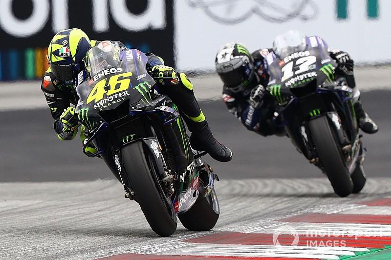 """Rossi : """"Pas sûr"""" que l'architecture moteur Yamaha soit inférieure"""