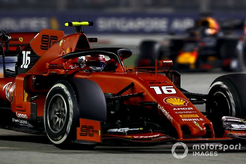 "Leclerc says he will ""just shut up"" on the radio next time"