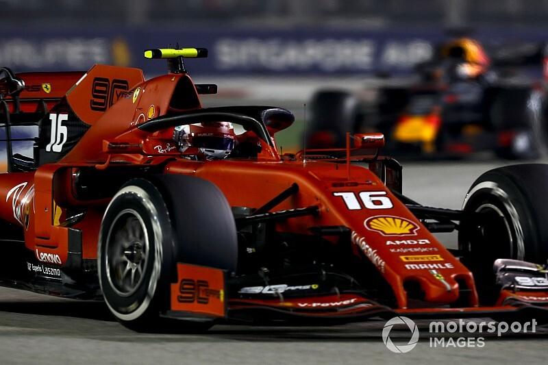"""Leclerc: vou """"calar a boca em vez de falar no rádio"""" na próxima vez"""