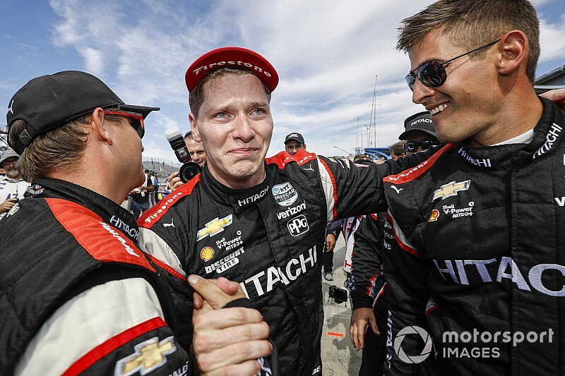 "Second championship ""feels more special,"" says Newgarden"