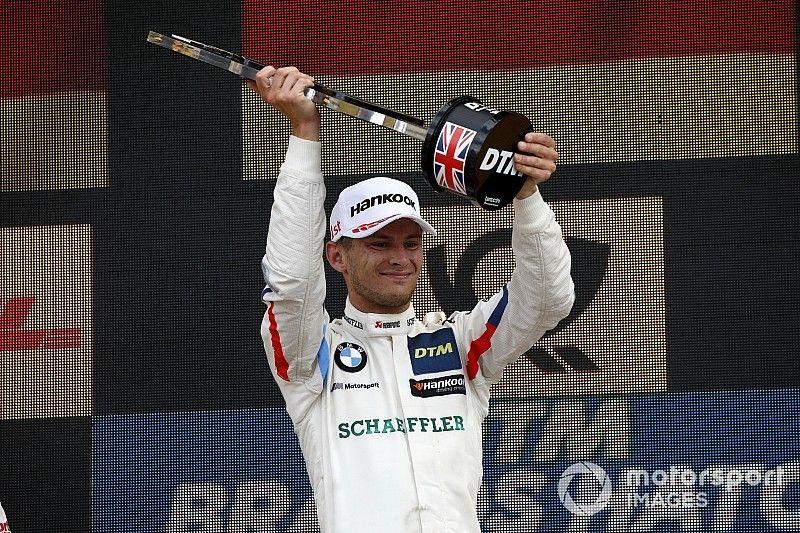 Brands Hatch DTM: Wittmann fends off Rast to win