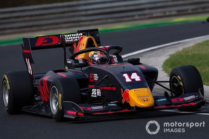 F3ハンガロリンク・レース2:角田自己最高位の6位入賞。アームストロング圧勝