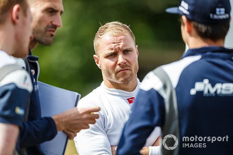 Bottas: Olyan gyors voltam a WRC-s Toyotával, mint az ötszörös győztes