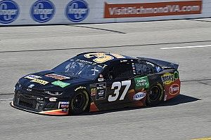 Chris Buescher is surprise leader of Friday's first Cup practice