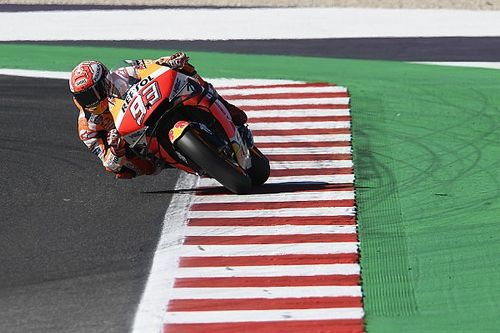 Misano MotoGP: Marquez leads Vinales in warm-up