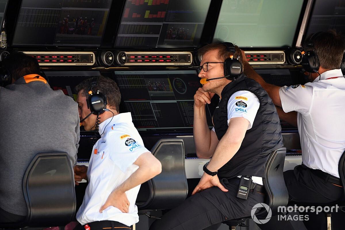 """McLaren cambia su estructura """"matriz"""" por una más típica de F1"""