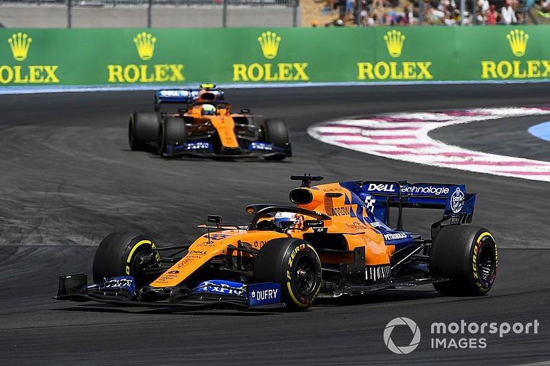 """McLaren : Norris et Sainz, """"clairement le bon choix"""" pour le renouveau"""