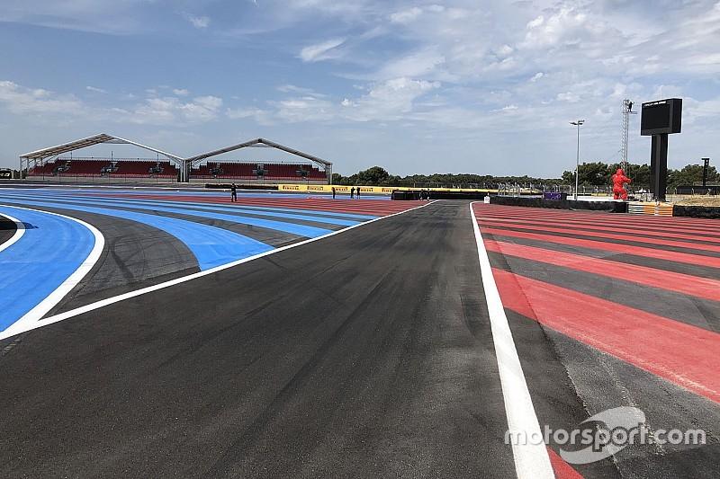 F1, GP di Francia: modificato l'ingresso della pit lane per questioni di sicurezza