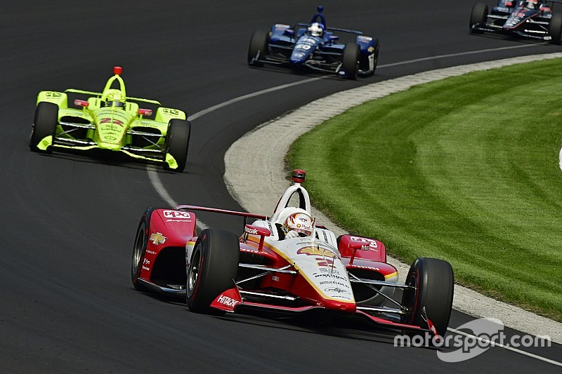 Indy 500: Newgarden puts Penske on top again in Day 2 practice