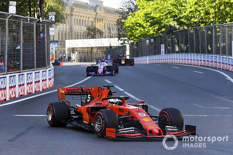 Vettel: Aquecimento de pneus é o maior problema da Ferrari na F1