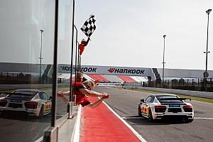 Stefano Comini vince con l'Audi R8 LMS a Misano