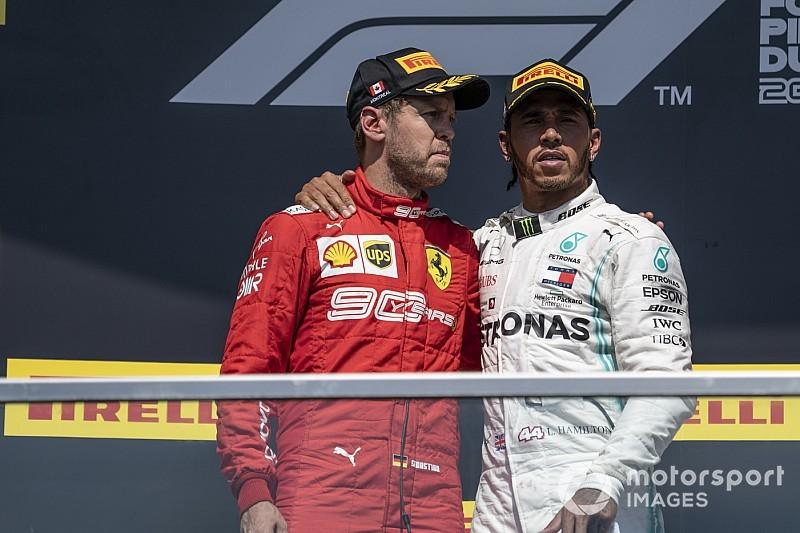 Hamilton wint GP van Canada na controversiële tijdstraf Vettel