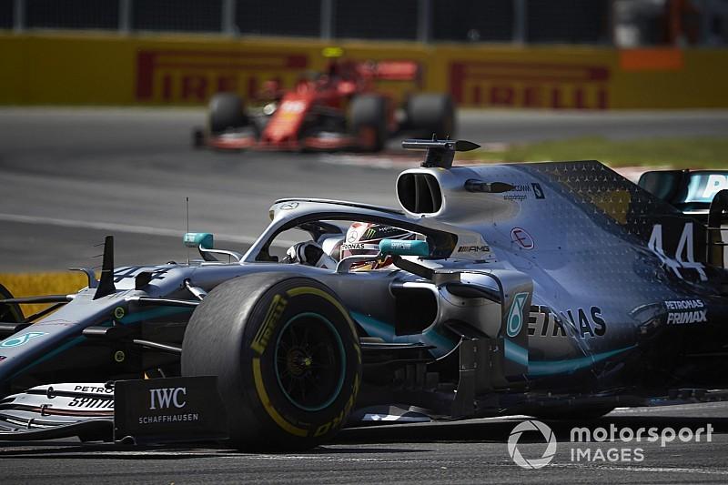 "Hamilton: Ferrari ma ""dodatkową"" moc"