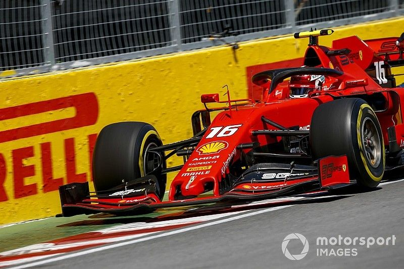 Canadian GP: Leclerc quickest in FP2 as Hamilton crashes