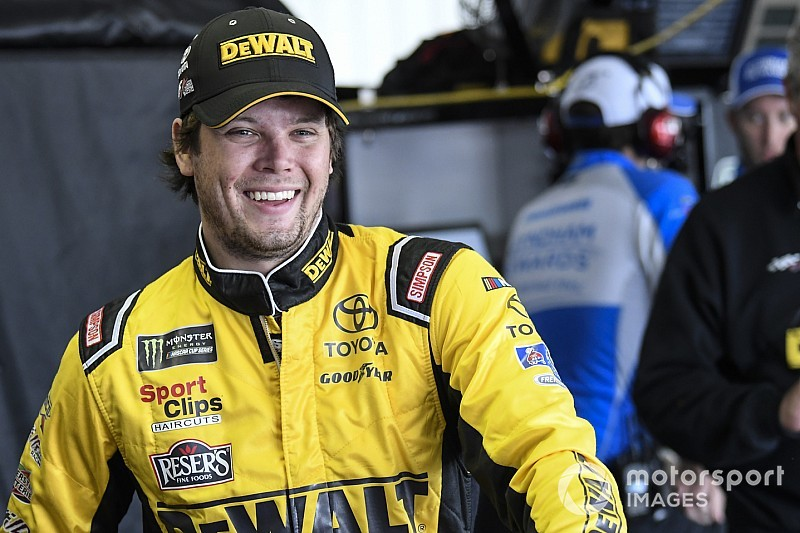 "Erik Jones: ""We had some luck today"" to finish third at Pocono"