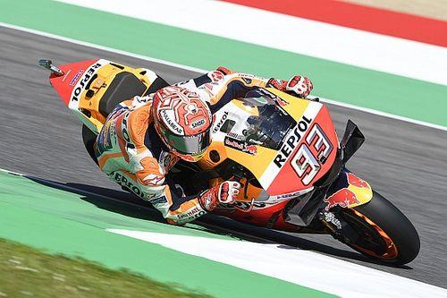 MotoGP Italia: Marquez pimpin warm-up, Mir ungguli Dovizioso