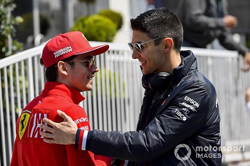 "Ocon: ""Voorspelde al dat Leclerc Vettel snel zou verslaan"""